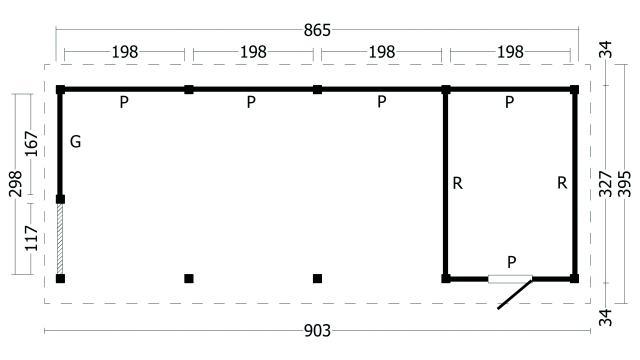 Zadeldak Hamar type 10 geplaatst 42.8002
