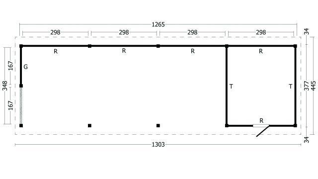 Zadeldak Hamar type 10 XL geplaatst 42.8010