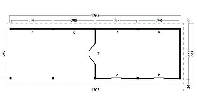 Zadeldak Hamar type 11 XL geplaatst 42.8011