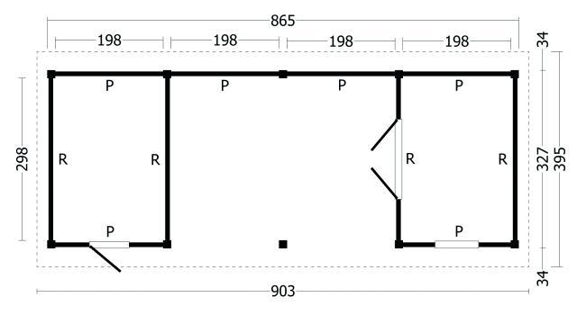 Zadeldak Hamar type 12 geplaatst 42.8004