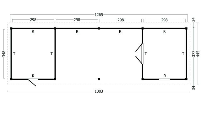 Zadeldak Hamar type 12 XL geplaatst 42.8012