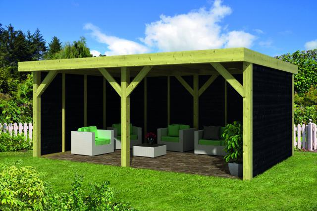 Doe-het-zelf-pakket Maaseik plat dak