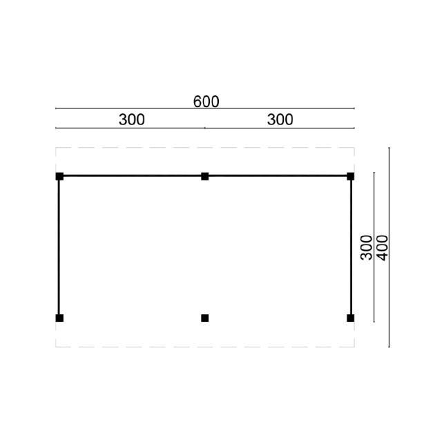 Doe-het-zelf-pakket Maaseik plat dak 45.9005V
