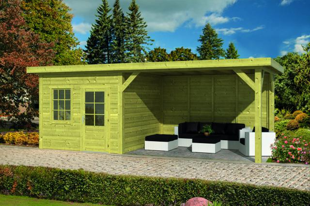 Doe-het-zelf-pakket Leuven plat dak