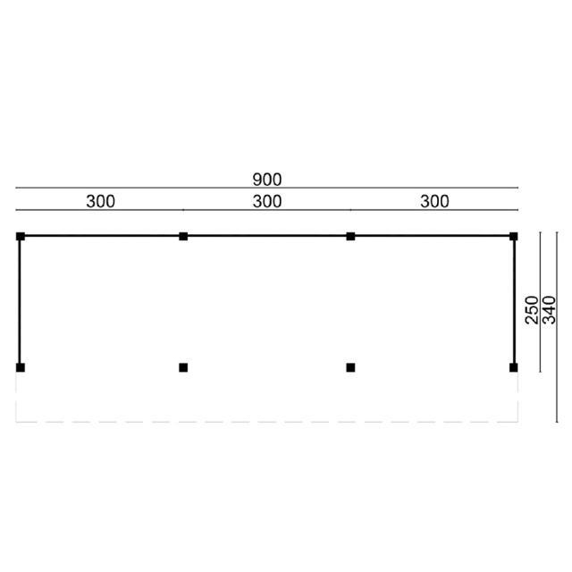 Doe-het-zelf-pakket Kapschuur Boekelo 45.9003B