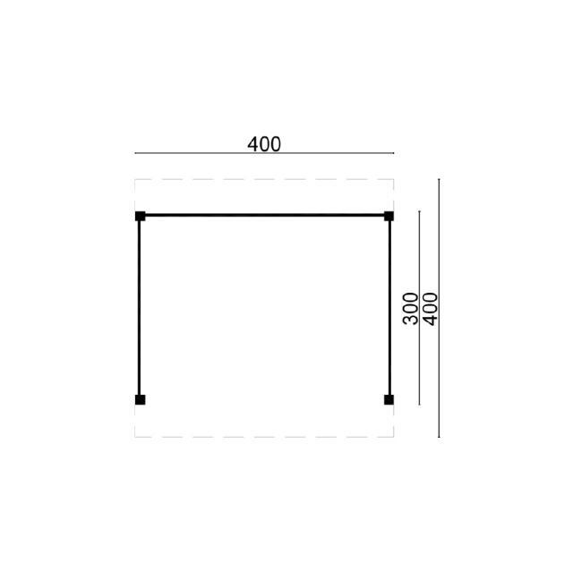 Doe-het-zelf-pakket Ommen plat dak 45.9004B