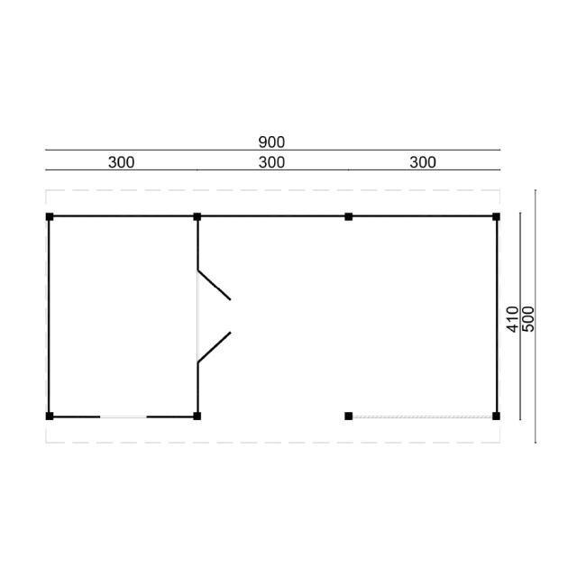 Doe-het-zelf-pakket Nijverdal plat dak