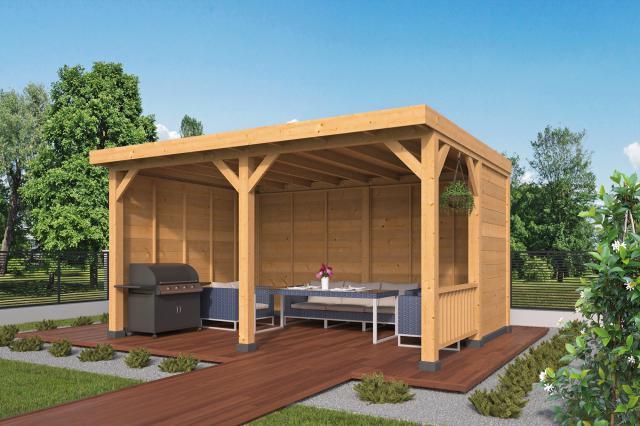 Doe-het-zelf-pakket Wezep plat dak