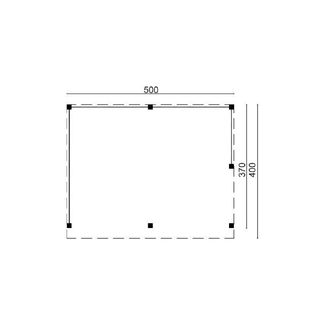 Doe-het-zelf-pakket Wezep plat dak 45.9023