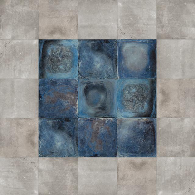 Excluton Noviton tegel BetonArt Blue 60x60x4cm 2000656