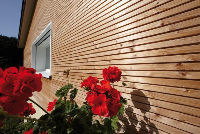 Gardenwall Thermohout grenen enkelwandig incl. plaatsen