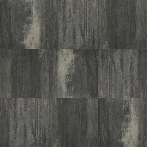 Excluton Terrastegel+ Grijs/Zwart 60x60x4cm 1001133