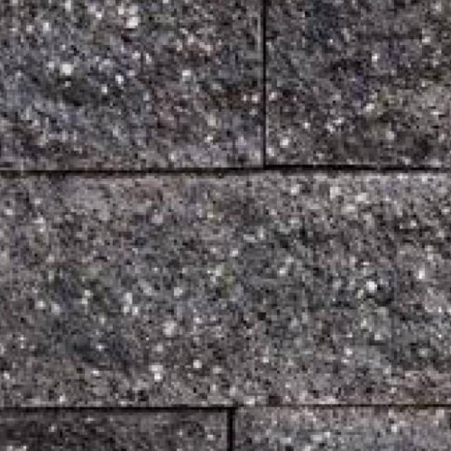 Excluton Granibiels 15x15x60cm Granietgrijs