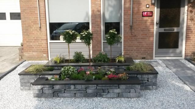 Excluton Stone Walling Grijs/Zwart 7000371