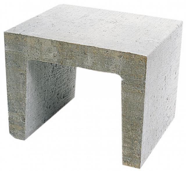 Excluton U-element 40x40x50cm Grijs 7000244