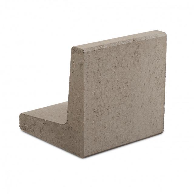 Excluton L-element 100x50x50cm Grijs