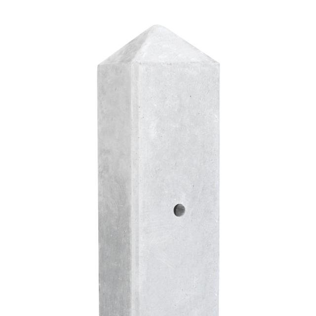 Betonpaal LEK lichtgewicht wit/grijs 7.5x7.5x280cm 1.58600