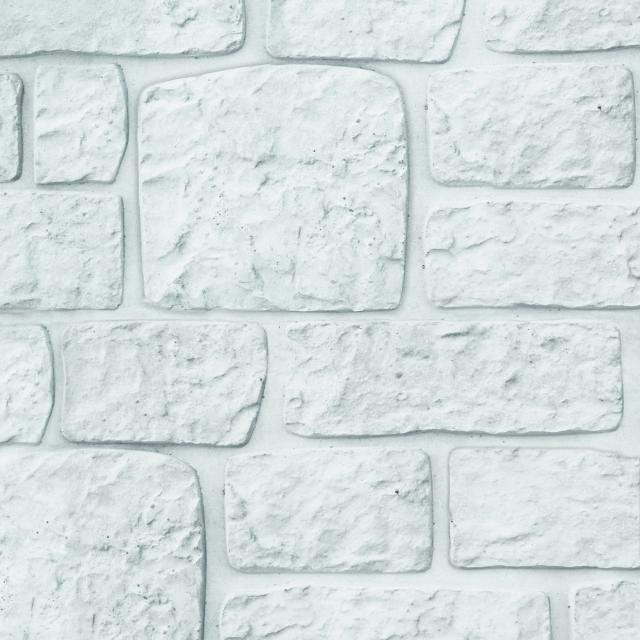 Onderplaat Romeins motief wit/grijs 26x4.8x184cm