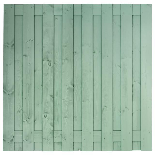 Tuinscherm Antwerpen grijs gespoten 180x180cm