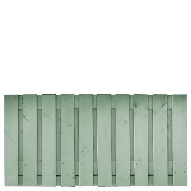 Tuinscherm Brussel grijs gespoten 1 90x180cm