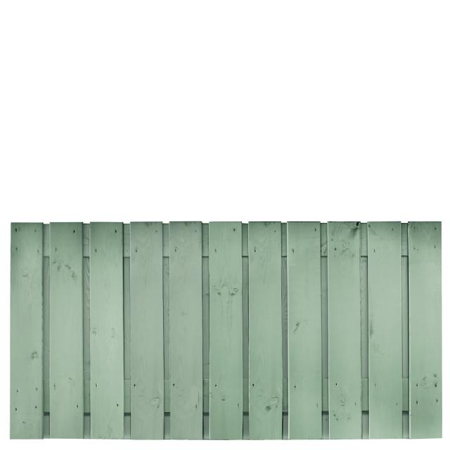 Tuinscherm Gent grijs gespoten 1 90x180cm 8.33090