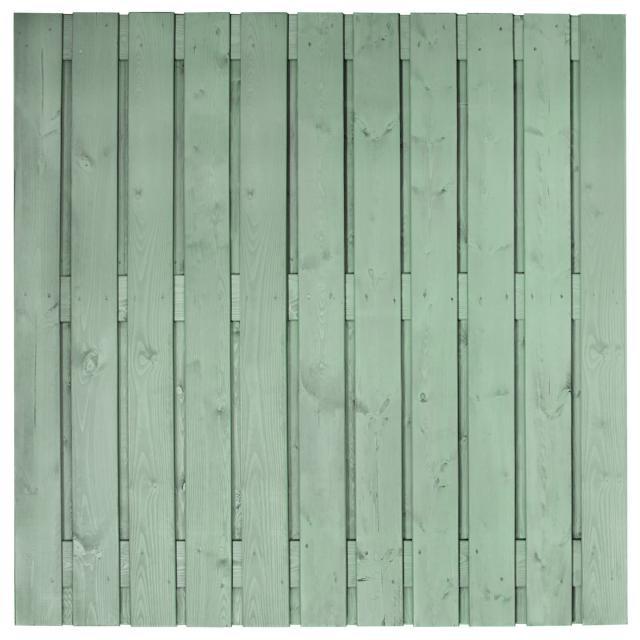 Tuinscherm Gent grijs gespoten 4 180x180cm 8.33180