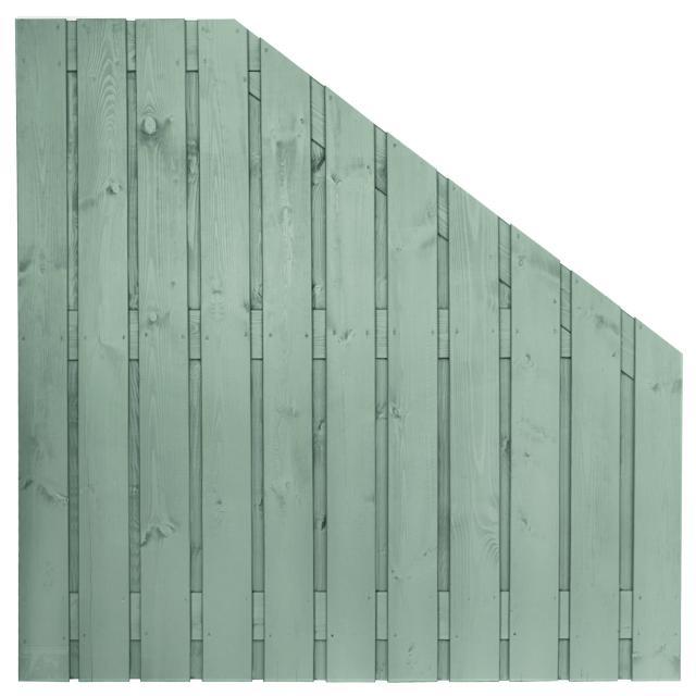 Tuinscherm Gent grijs gespoten 5 180x180-90cm  8.33918