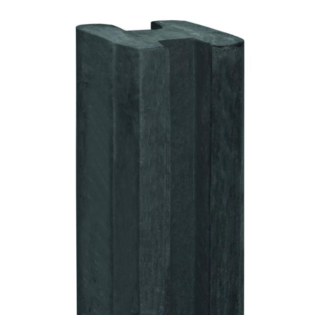 Sleufeindpaal antraciet 10x10x270cm