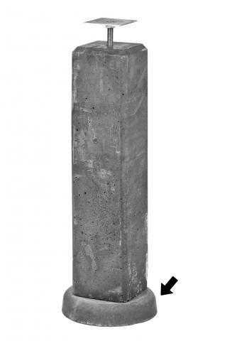 Wegzakpreventie voor betonpour 1.59007
