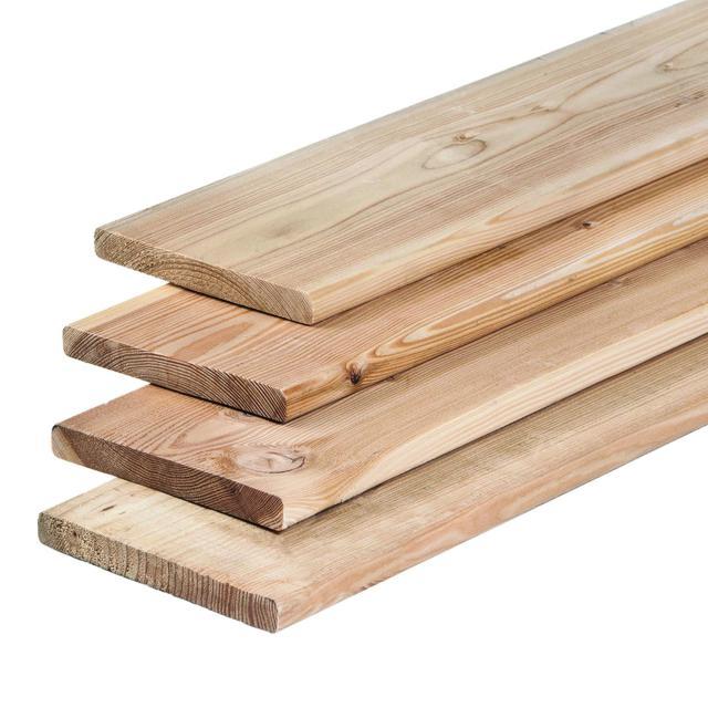 Lariks plank recht 1.6x14x180cm