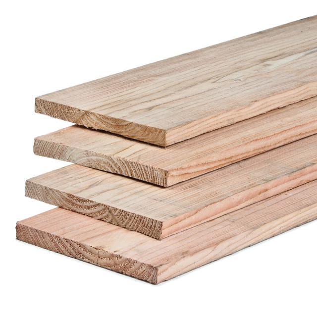 Lariks kantplank recht 2.2x20x300cm