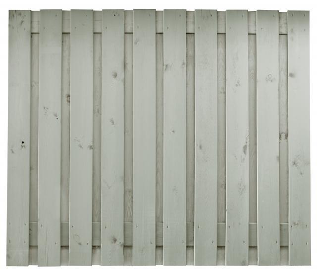 Hout-beton Grenen Brussel zilvergrijs 150x180 dubbele onderplaat incl. plaatsen