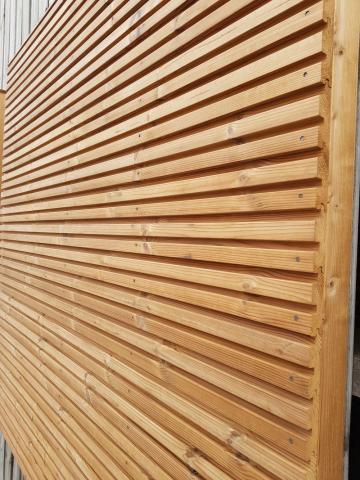 Gardenwall Thermohout grenen enkelwandig afhalen materialen
