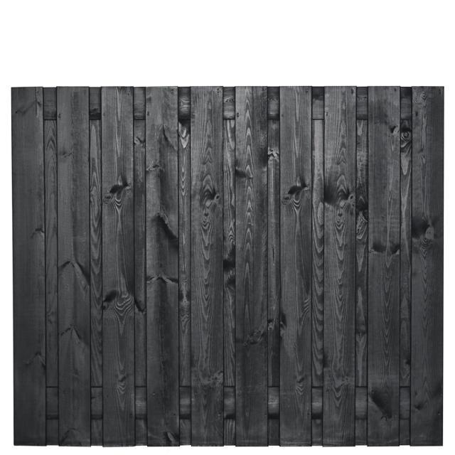 Hout-beton zwart gespoten Stuttgart 150x180 dubbele onderplaat afhalen materialen