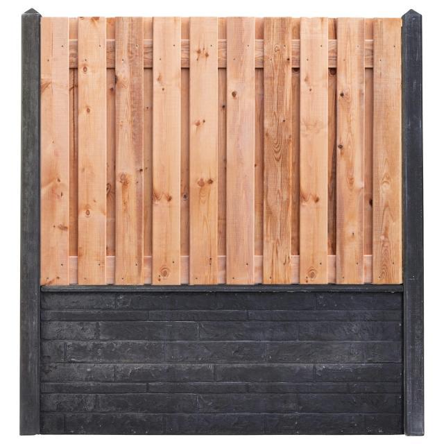 Hout-beton Red Class Wood 130x180 incl. plaatsen