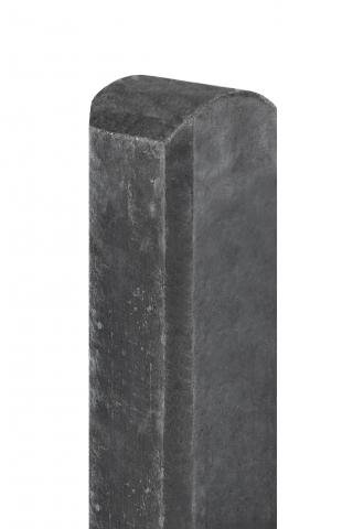 Betonpaal Waal Antraciet ronde kop 10x10x190cm