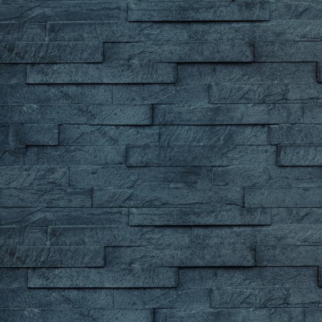 Onderplaat Leisteen motief Antraciet gecoat 36x4.8x184