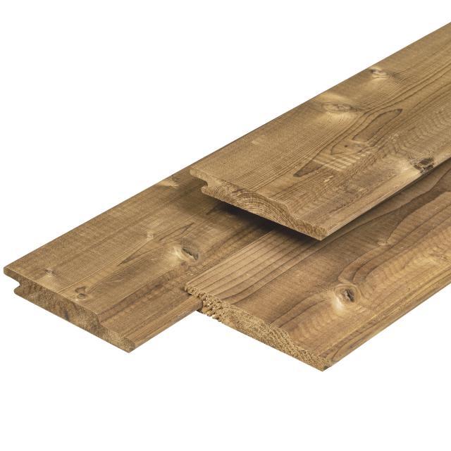 Rabatdelen steamed 5* class wood overhangend 1.8x14,1x300cm