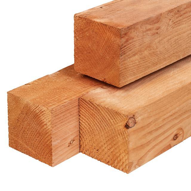 Red class wood paal geschaafd 14x14x300cm 36.1430