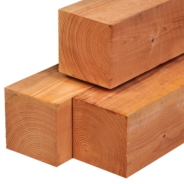 Red class wood paal geschaafd 20x20x300cm