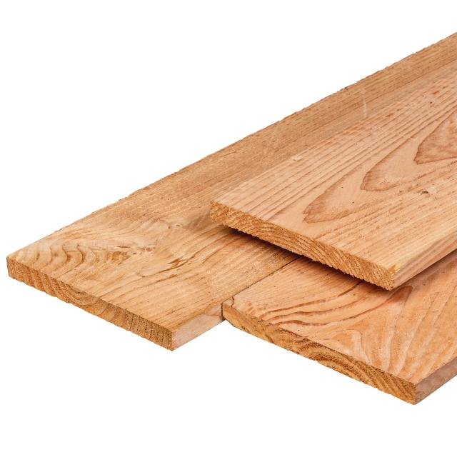 Lariks kantplank recht 2.2x20x180cm