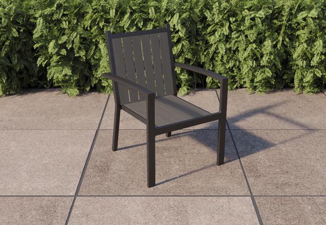 Aluminium stoel Almeria