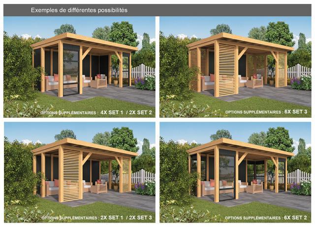 Doe-het-zelf-pakket Hellendoorn plat dak