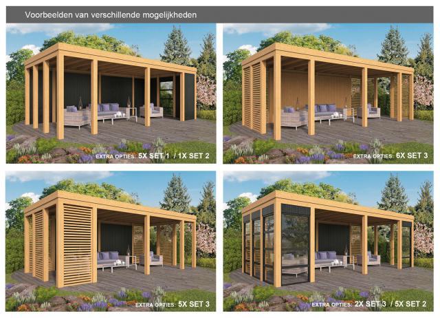 Doe-het-zelf-pakket Brammelo plat dak