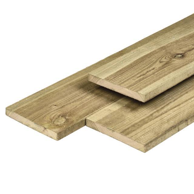 Grenen plank geschaafd 1.6x14x300cm 37.1630P