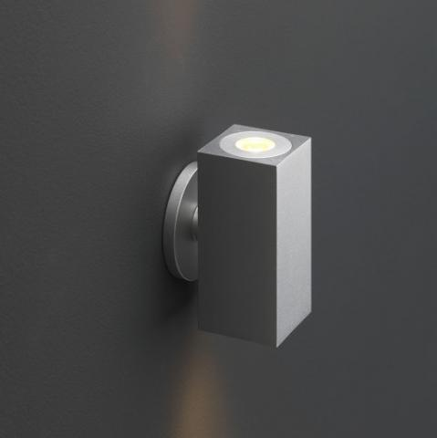 Wandlamp Lamego Zilver