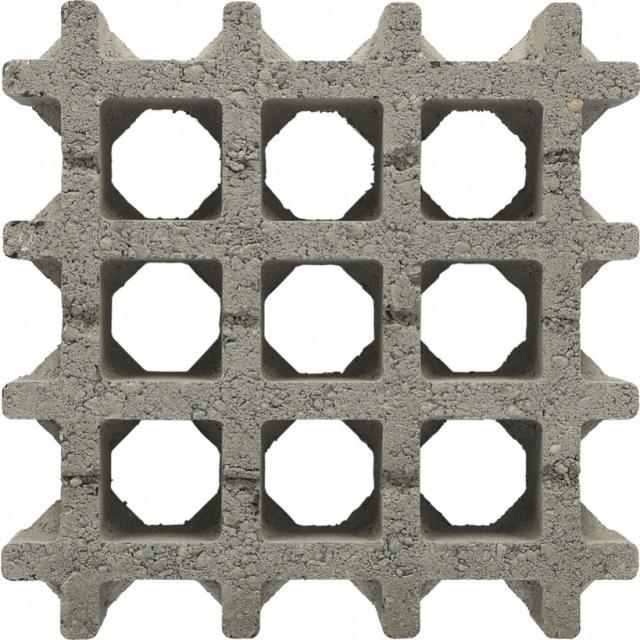 Excluton Aquadraintegel Gris 30x30x8cm  3002168