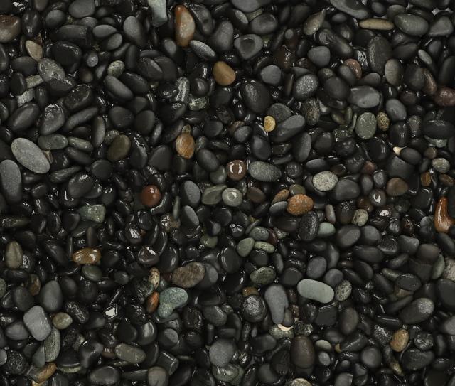 Excluton 25 kg Beach Pebbles Black 8-16 mm