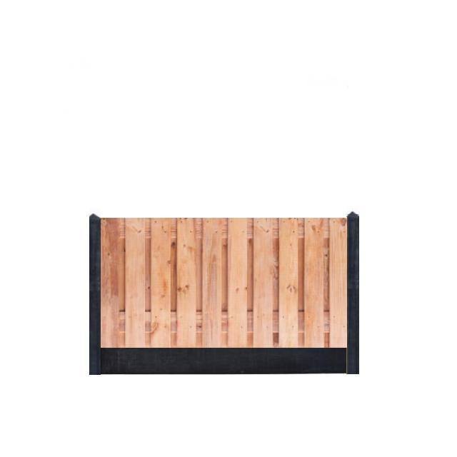 Hout-beton Red Class Wood 90x180 incl. plaatsen