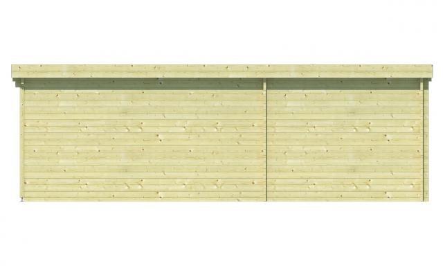 Blokhut Gunnar Plat dak 40.0751